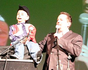 Terry Fator - Fator with Walter T. Airedale
