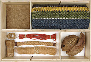 Coir - Various forms in which coir fibre can appear