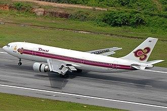 Thai Airways - THAI Airbus A300, Phuket Airport (2008)