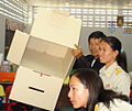 Thai general election, 2007 in Ban Mae Klong Noi School (Tak Province) 06.jpg