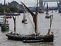 Thames barge parade - downstream - Thalatta 6777.JPG