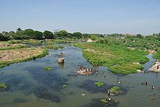 Thamirabarani River River in Tamil Nadu, India