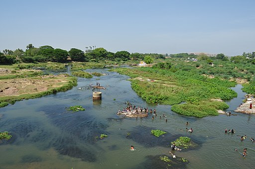 Thamirabarani River தாமிரபரணி பொருணை ஆறு