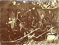 Thawing frozen ground with steam in an underground gold mine, No 16 Eldorado Creek, Yukon Territory, March 1901 (MEED 63).jpg