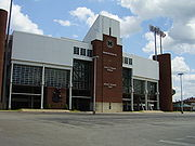 Joan C. Edwards Stadium.