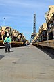The 842nd Transportation Battalion, with the 597th Transportation Brigade, Military Surface Deployment and Distribution Command orchestrates simultaneous terminal operations for the loading of unit equipment 131212-A-TQ663-018.jpg