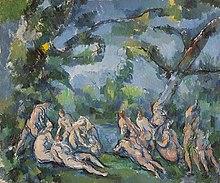 The Bathers - Chicago (1899-1904) Paul Cezzane.jpg