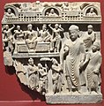 The Buddha and Nanda in the Heaven of the 33 Gods, Pakistan, San Diego Museum of Art.JPG