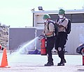 The California Military Institute (CMI) Community Emergency Response Team (CERT) extinguishes a simulated fire.jpg