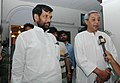 The Chief Minister of Orissa, Shri Naveen Patnaik with the Union Minister of Steel, Chemicals & Fertilizers, Shri Ram Vilas Paswan, in New Delhi on May 15, 2007.jpg