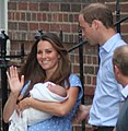 The Duke and Duchess of Cambridge with Prince George-crop.jpg