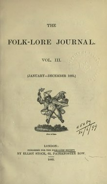 The Folk-Lore Journal Volume 3 1885.djvu