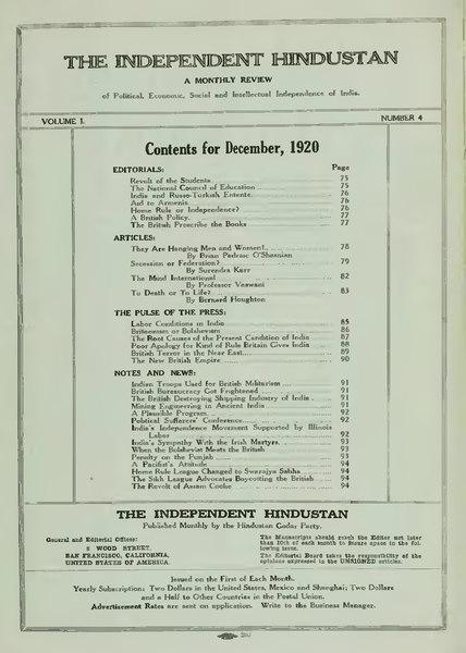 File:The Independent Hindustan Volume I Number 4.djvu