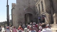 Fil:The Jaffa Gate in Jerusalem.ogv