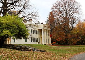 Rye, New York - Jay Estate is the childhood home of American Founding Father, John Jay.