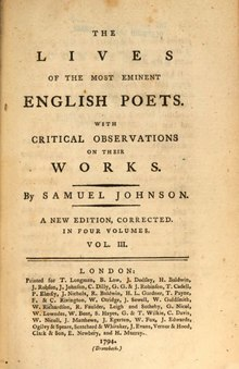 The Lives of the Most Eminent English Poets, Volume 3.djvu