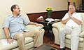 The Lt. Governor of Andaman & Nicobar Islands, Lt. General (Retd.) Shri A.K. Singh meeting the Union Minister for Civil Aviation, Shri Ashok Gajapathi Raju Pusapati, in New Delhi on June 24, 2014.jpg