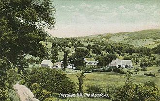 Freedom, New Hampshire - The Meadows c. 1910