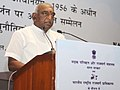 The Minister of State for Road Transport & Highways and Shipping, Shri P. Radhakrishnan addressing at the inauguration of the conference of Regional Offices of the Ministry, in New Delhi on April 26, 2016.jpg