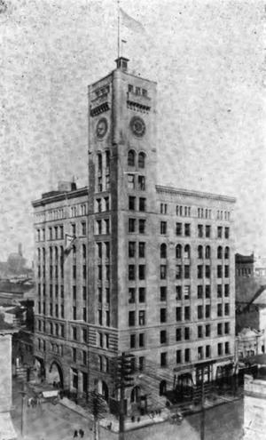 Reid & Reid - Image: The Oregonian Building circa 1900