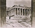 The Parthenon showing the scaffolding in 1923.jpg