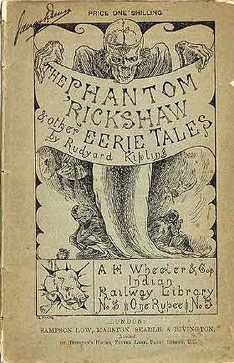 The Phantom 'Rickshaw and Other Tales - Cover of the 1888 edition