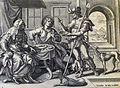 The Phillip Medhurst Picture Torah 129. Esau selling his birthright. Genesis cap 25 v 29. De Vos.jpg