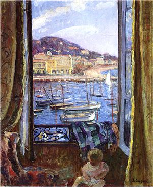 Henri Lebasque - Image: The Quay at St Pierre in Cannes by Henri Lebasque