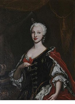 The Queen of Naples (Maria Amalia of Saxony) by an unknown artist.JPG