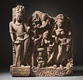 The River Goddess Ganga (Ganges) and Attendants LACMA M.79.9.10.1 (1 of 9).jpg