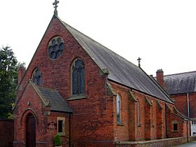 The Roman Catholic Church of St.Robert of Newminster, Catforth. Photograph by Brian Young 2011.jpg