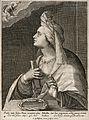 The Samian sibyl. Engraving by C. de Passe I. Wellcome V0035890.jpg