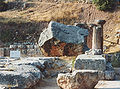 The Temple of Athena in the Marmaria - Delphi.jpg