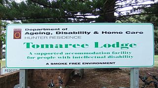 Tomaree Lodge former residential care centre in Shoalhaven, New South Wales, Australia