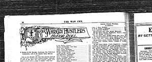 The War Cry - The War Cry, a 1904 edition