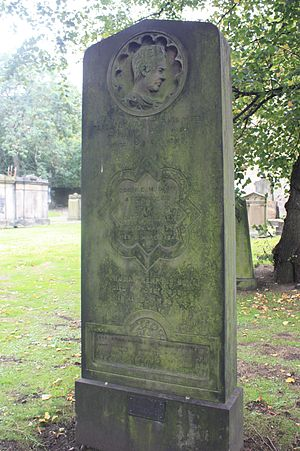 George Meikle Kemp - The grave of George Meikle Kemp, St Cuthberts