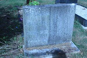 Nigel Balchin - The grave of Nigel Balchin, Hampstead Cemetery, London