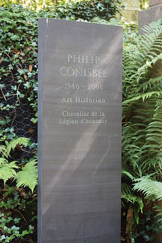 Philip Conisbee - The grave of Philip Conisbee, Highgate Cemetery, London