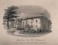 The house where Jenner first practised vaccination. Engravin Wellcome V0018747.jpg