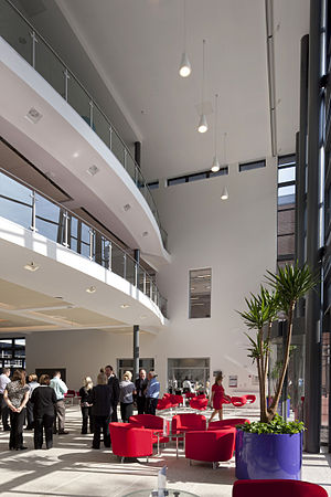 Southampton City College - 'the hub' interior.