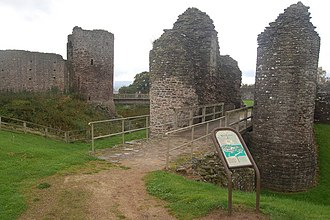 White Castle, Monmouthshire - The outer ward's gatehouse