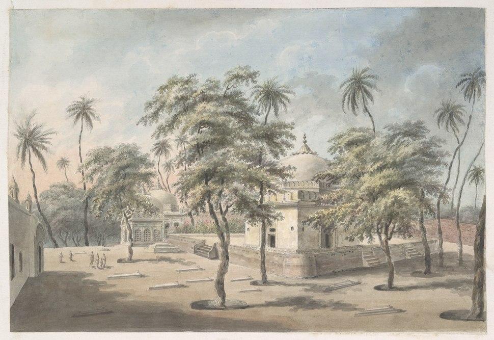 The shrine of Shah Arzani, Patna, 1814-15
