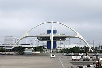Atomic Age (design) - Theme Building in Los Angeles International Airport.