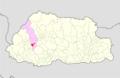 Thimphu Geney Gewog Bhutan location map.png