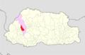 Thimphu Mewang Gewog Bhutan location map.png