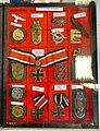 Third Reich Nazi Germany military decorations, badges (Norwegian descriptions). Iron cross, Narvik shield, etc. Lofoten Krigsminnemuseum (WW2 Memorial Museum) Svolvær, Norway 2019-05-08 DSC09822.jpg