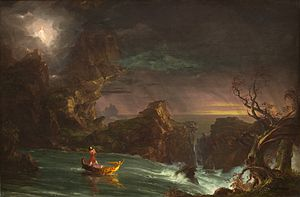 Thomas Cole, The Voyage of Life, 1842, National Gallery of Art.jpg