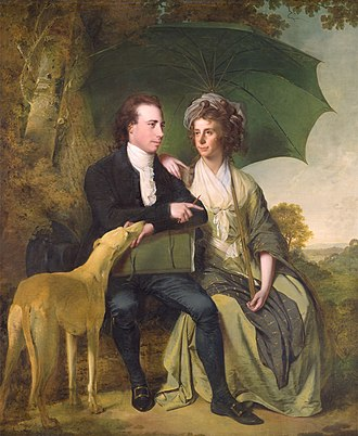 Thomas Gisborne - Thomas and Mary Gisborne in a 1786 painting by Joseph Wright of Derby.
