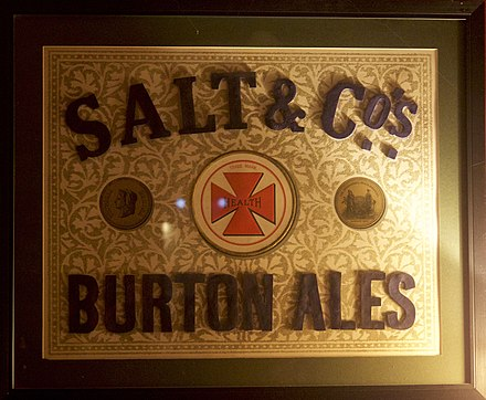 Thomas Salt & Co. Maltese Cross trademark Thomas Salt & Co. Burton Ales.jpg
