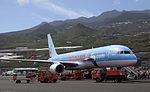 Thomson 757 at La Palma (5488317945).jpg